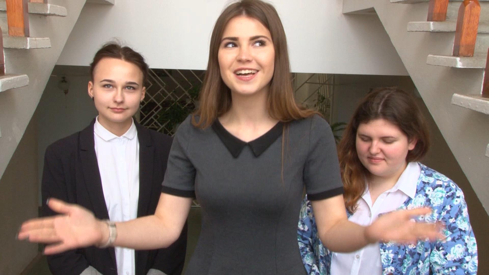 Видеосъёмка выпускных, интервью